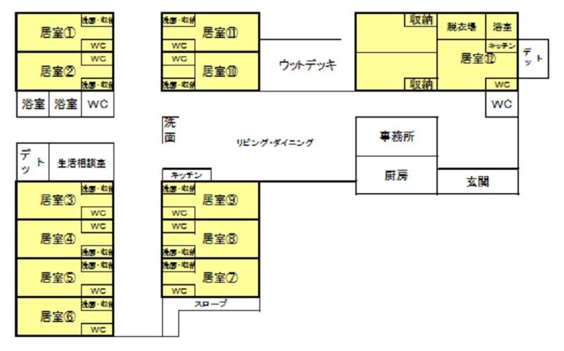 元気II平面図