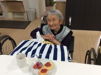 こちらは98歳!おめでとう~!!