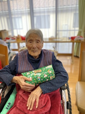 最高齢、104歳のKさんも当たりました~☆